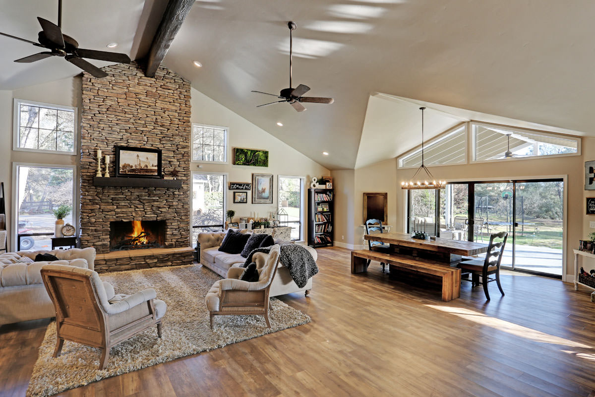 Granite Bay Ranch Style Large Scale Renovation Interior Design